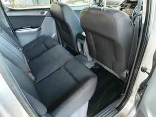 2017 Mazda BT-50 4x2 XTR Silver 5 Speed Automatic Dual Cab