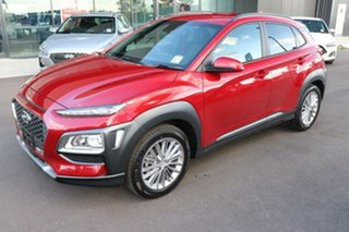 2020 Hyundai Kona OS.3 MY20 Elite 2WD Pulse Red 6 Speed Sports Automatic Wagon.