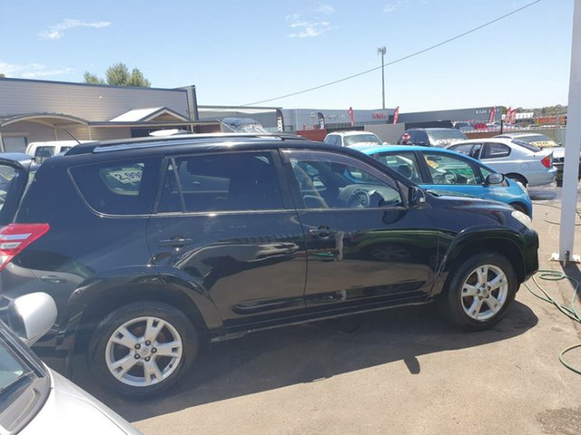 Used Toyota RAV4 ACA33R MY09 Cruiser L Morphett Vale, 2010 Toyota RAV4 ACA33R MY09 Cruiser L Black 4 Speed Automatic Wagon