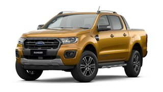 2021 Ford Ranger PX MkIII 2021.25MY Wildtrak Saber 10 Speed Sports Automatic Double Cab Pick Up.