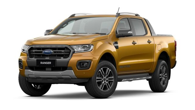 New Ford Ranger PX MkIII 2021.25MY Wildtrak Hamilton, 2021 Ford Ranger PX MkIII 2021.25MY Wildtrak Saber 6 Speed Sports Automatic Double Cab Pick Up