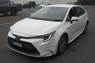 2020 Toyota Corolla ZWE211R SX E-CVT Hybrid White 10 Speed Constant Variable Sedan Hybrid.