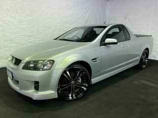 2010 Holden Ute VE MY10 SV6 Silver 6 Speed Manual Utility