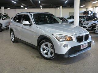 2012 BMW X1 E84 MY0312 sDrive18i Steptronic Silver 6 Speed Sports Automatic Wagon.