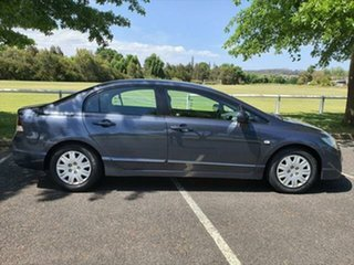 2008 Honda Civic 8th Gen MY08 VTi Nh-684p-Sparkle Grey 5 Speed Automatic Sedan