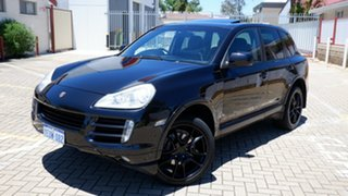 2009 Porsche Cayenne 9PA MY09 Diesel Black 6 Speed Sports Automatic Wagon.