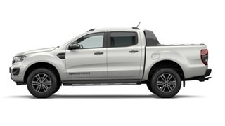 2020 Ford Ranger PX MkIII 2021.25MY Wildtrak Alabaster White 10 Speed Sports Automatic.