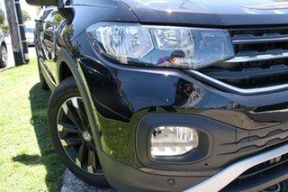 2021 Volkswagen T-Cross C1 MY21 85TSI DSG FWD Life Deep Black Pearl Effect 7 Speed.
