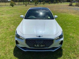 2019 Genesis G70 IK MY19 Ultimate White 8 Speed Sports Automatic Sedan