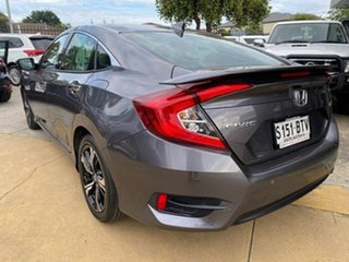 2017 Honda Civic 10th Gen MY17 RS Grey 1 Speed Constant Variable Sedan
