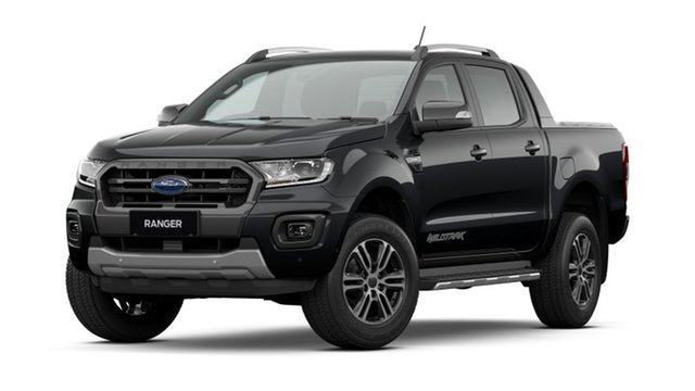 New Ford Ranger PX MkIII 2021.25MY Wildtrak Townsville, 2021 Ford Ranger PX MkIII 2021.25MY Wildtrak Shadow Black 10 Speed Sports Automatic