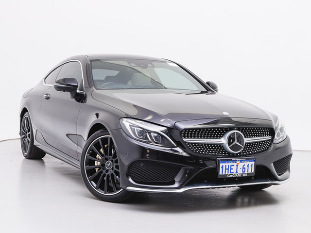 Used Mercedes-Benz C300 205 MY16 , 2016 Mercedes-Benz C300 205 MY16 Black 7 Speed Automatic Coupe