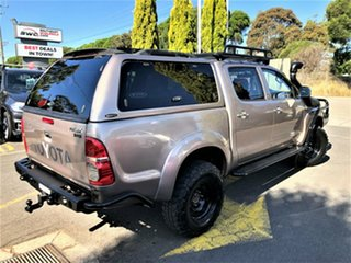 2011 Toyota Hilux KUN26R MY12 SR5 Double Cab Bronze 4 Speed Automatic Utility