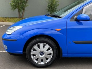 2003 Ford Focus LR MY2003 CL Blue 4 Speed Automatic Hatchback