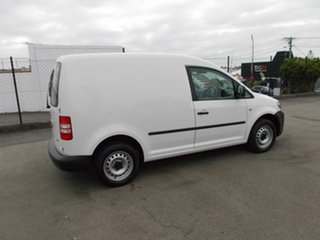 2014 Volkswagen Caddy White 5 Speed Automatic Van.