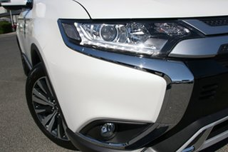 2021 Mitsubishi Outlander ZL MY21 LS 2WD White 6 Speed Constant Variable Wagon.