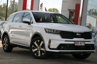 2020 Kia Sorento MQ4 MY21 Sport AWD Snow White Pearl 8 Speed Sports Automatic Dual Clutch Wagon.