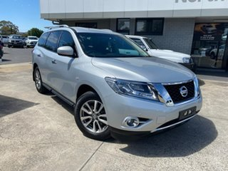 2016 Nissan Pathfinder R52 MY16 ST X-tronic 4WD Silver 1 Speed Constant Variable Wagon.