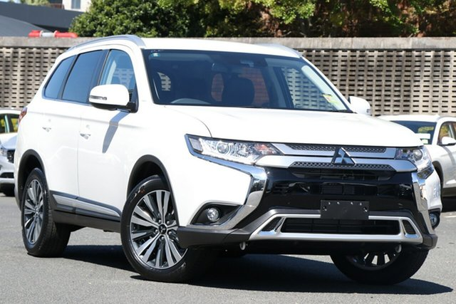 New Mitsubishi Outlander ZL MY21 LS 2WD Cardiff, 2020 Mitsubishi Outlander ZL MY21 LS 2WD White 6 Speed Constant Variable Wagon