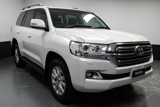 Used Toyota Landcruiser VDJ200R VX Hamilton, 2015 Toyota Landcruiser VDJ200R VX White 6 Speed Sports Automatic Wagon