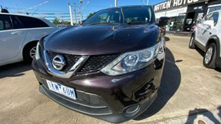 2015 Nissan Qashqai J11 ST Purple 1 Speed Constant Variable Wagon