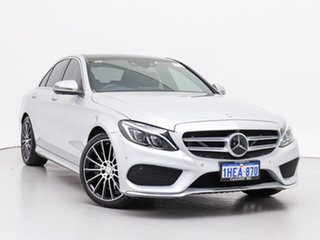 2017 Mercedes-Benz C250 205 MY17 Silver 9 Speed Automatic G-Tronic Sedan.