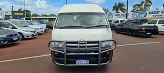 2008 Toyota HiAce KDH223R MY08 Commuter High Roof Super LWB 5 Speed Manual Bus.