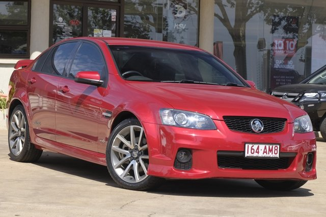 Used Holden Commodore VE II SS V Toowoomba, 2010 Holden Commodore VE II SS V Red 6 Speed Manual Sedan