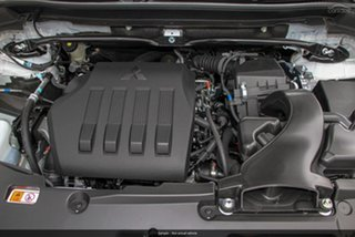 2020 Mitsubishi Eclipse Cross YA MY20 Black Edition 2WD Starlight 8 Speed Constant Variable Wagon.