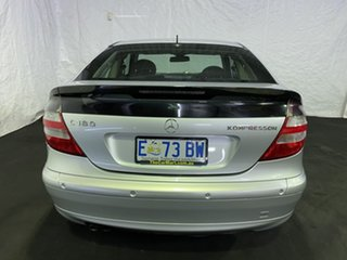 2005 Mercedes-Benz C-Class CL203 MY2005 C180 Kompressor Sports Silver 5 Speed Automatic Coupe
