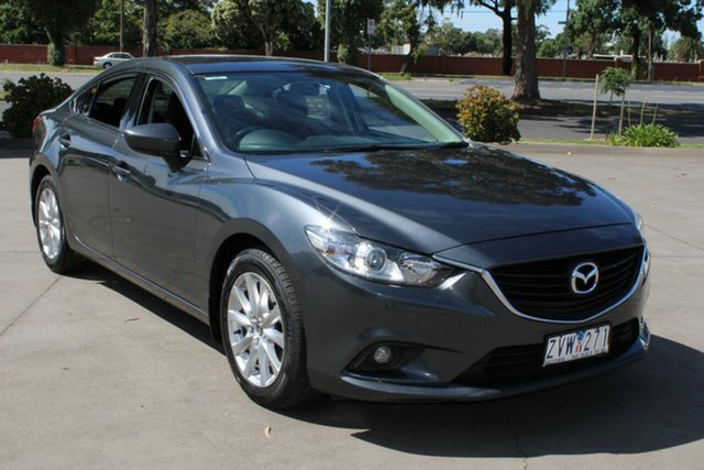 Used Mazda 6 6C Sport West Footscray, 2013 Mazda 6 6C Sport Grey 6 Speed Automatic Sedan