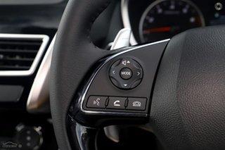 2020 Mitsubishi Eclipse Cross YA MY20 Black Edition 2WD Black 8 Speed Constant Variable Wagon.