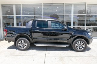2019 Ford Ranger PX MkIII 2019.75MY Wildtrak Black 10 Speed Sports Automatic Double Cab Pick Up