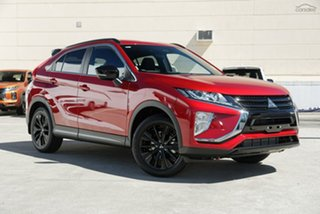 2020 Mitsubishi Eclipse Cross YA MY20 Black Edition 2WD Diamond Red 8 Speed Constant Variable Wagon.