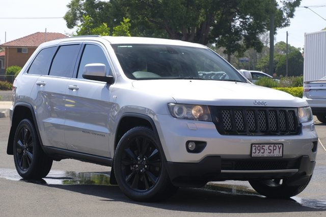Used Jeep Grand Cherokee WK MY2012 Laredo Toowoomba, 2012 Jeep Grand Cherokee WK MY2012 Laredo Silver 5 Speed Sports Automatic Wagon
