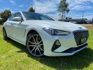 2019 Genesis G70 IK MY19 Ultimate White 8 Speed Sports Automatic Sedan.