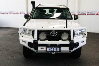 2019 Toyota Landcruiser VDJ200R GX Glacier White 6 Speed Sports Automatic Wagon.