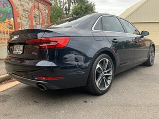 2015 Audi A4 B9 8W MY16 Sport S Tronic Blue 7 Speed Sports Automatic Dual Clutch Sedan.