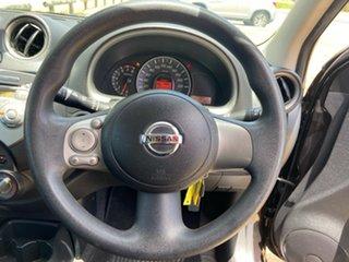 2011 Nissan Micra K13 ST Maroon 4 Speed Automatic Hatchback