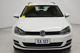2017 Volkswagen Golf VII MY17 92TSI DSG Trendline White 7 Speed Sports Automatic Dual Clutch Wagon.
