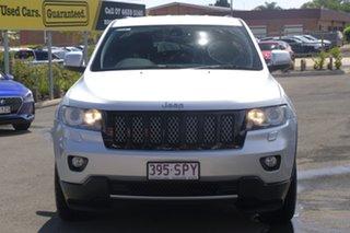 2012 Jeep Grand Cherokee WK MY2012 Laredo Silver 5 Speed Sports Automatic Wagon