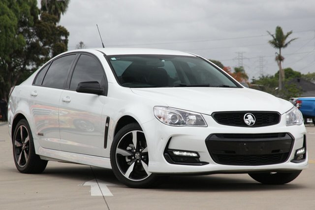 Used Holden Commodore Vfii MY16 SV6 Black Edition Chullora, 2017 Holden Commodore Vfii MY16 SV6 Black Edition White 6 Speed Automatic Sedan