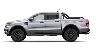 2020 Ford Ranger PX MkIII 2021.25MY FX4 Max Aluminium Silver 10 Speed Sports Automatic.
