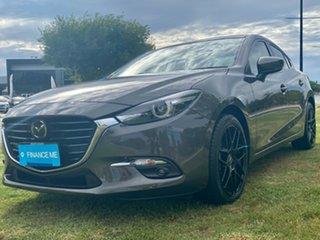 2018 Mazda 3 BN5238 SP25 SKYACTIV-Drive Astina Titanium Flash 6 Speed Sports Automatic Sedan.