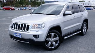 2012 Jeep Grand Cherokee WK MY2012 Limited Silver 5 Speed Sports Automatic Wagon.