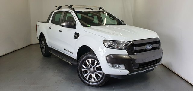 Used Ford Ranger PX MkII Wildtrak Double Cab Elizabeth, 2017 Ford Ranger PX MkII Wildtrak Double Cab White 6 Speed Sports Automatic Utility