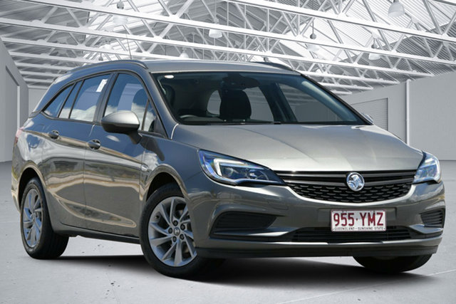 Used Holden Astra BK MY18 LS Plus Eagle Farm, 2018 Holden Astra BK MY18 LS Plus Cosmic Grey 6 Speed Automatic Sportswagon