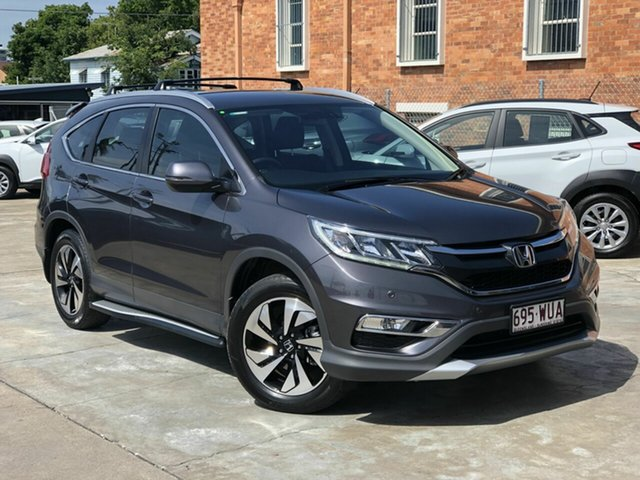 Used Honda CR-V RM Series II MY17 Limited Edition Chermside, 2016 Honda CR-V RM Series II MY17 Limited Edition Grey 5 Speed Automatic Wagon