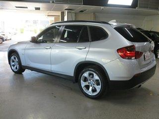 2012 BMW X1 E84 MY0312 sDrive18i Steptronic Silver 6 Speed Sports Automatic Wagon