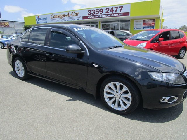 Used Ford Falcon FG MkII G6 Kedron, 2012 Ford Falcon FG MkII G6 Black 6 Speed Sports Automatic Sedan